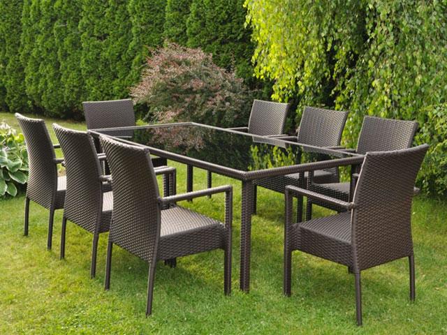 Tavoli con sedie per il giardino nuova rrr